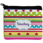 Ribbons Rectangular Coin Purse (Personalized)