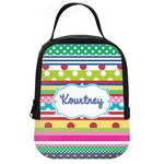 Ribbons Neoprene Lunch Tote (Personalized)