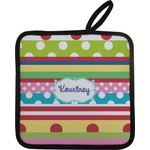 Ribbons Pot Holder (Personalized)