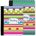 Ribbons Notebook Padfolio w/ Name or Text