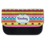 Ribbons Canvas Pencil Case w/ Name or Text