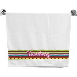 Ribbons Bath Towel (Personalized)