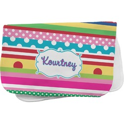 Ribbons Burp Cloth (Personalized)
