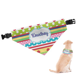 Ribbons Dog Bandana (Personalized)