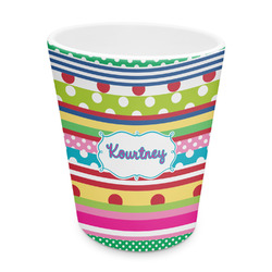 Ribbons Plastic Tumbler 6oz (Personalized)