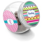 Ribbons Puppy Treat Jar (Personalized)