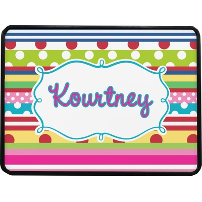 Ribbons Rectangular Trailer Hitch Cover (Personalized)