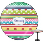 Ribbons Round Table (Personalized)
