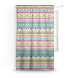 "Ribbons Sheer Curtain - 50""x84"" (Personalized)"