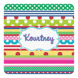 Ribbons Square Decal (Personalized)