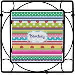 Ribbons Square Trivet (Personalized)