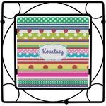 Ribbons Square Trivet (Personalized)