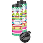 Ribbons Stainless Steel Skinny Tumbler (Personalized)