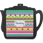 Ribbons Teapot Trivet (Personalized)