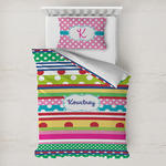 Ribbons Toddler Bedding w/ Name or Text