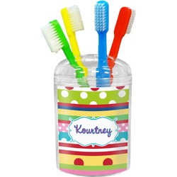 Ribbons Toothbrush Holder (Personalized)