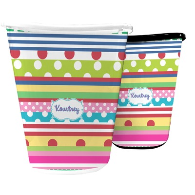 Ribbons Waste Basket (Personalized)