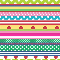 """Ribbons Wallpaper & Surface Covering (Peel & Stick 24""""x 24"""" Sample)"""
