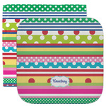 Ribbons Facecloth / Wash Cloth (Personalized)