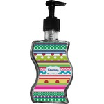 Ribbons Wave Bottle Soap / Lotion Dispenser (Personalized)