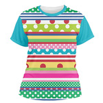 Ribbons Women's Crew T-Shirt (Personalized)
