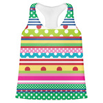 Ribbons Womens Racerback Tank Top (Personalized)