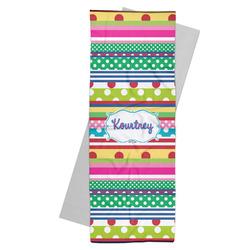 Ribbons Yoga Mat Towel (Personalized)