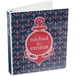 All Anchors 3-Ring Binder (Personalized)