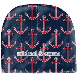 All Anchors Baby Hat (Beanie) (Personalized)
