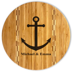 All Anchors Bamboo Cutting Board (Personalized)