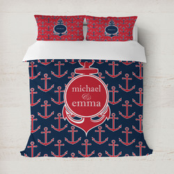All Anchors Duvet Covers (Personalized)