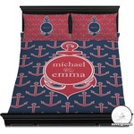 All Anchors Duvet Cover Set (Personalized)