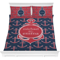 All Anchors Comforter Set (Personalized)