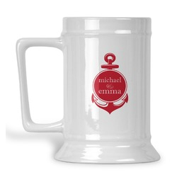 All Anchors Beer Stein (Personalized)