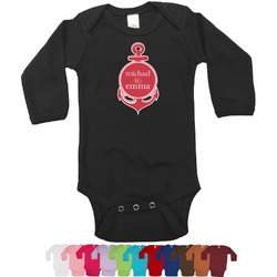 All Anchors Bodysuit - Long Sleeves - 12-18 months (Personalized)