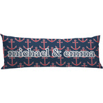 All Anchors Body Pillow Case (Personalized)