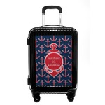 All Anchors Carry On Hard Shell Suitcase (Personalized)