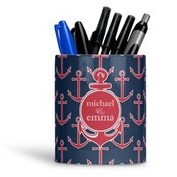 All Anchors Ceramic Pen Holder