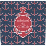 All Anchors Ceramic Tile Hot Pad (Personalized)