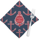 All Anchors Napkins (Set of 4) (Personalized)