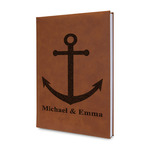All Anchors Leatherette Journal (Personalized)