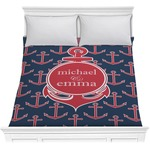 All Anchors Comforter (Personalized)