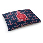 All Anchors Dog Bed (Personalized)