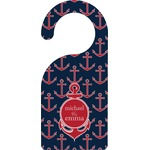 All Anchors Door Hanger (Personalized)