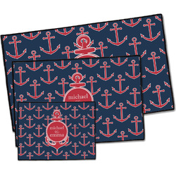 All Anchors Door Mat (Personalized)