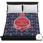 All Anchors Duvet Cover (Personalized)