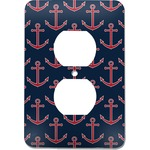 All Anchors Electric Outlet Plate (Personalized)