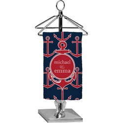 All Anchors Finger Tip Towel - Full Print (Personalized)