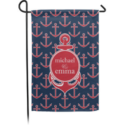 All Anchors Single Sided Garden Flag With Pole (Personalized)
