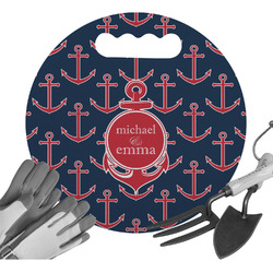 All Anchors Gardening Knee Cushion (Personalized)